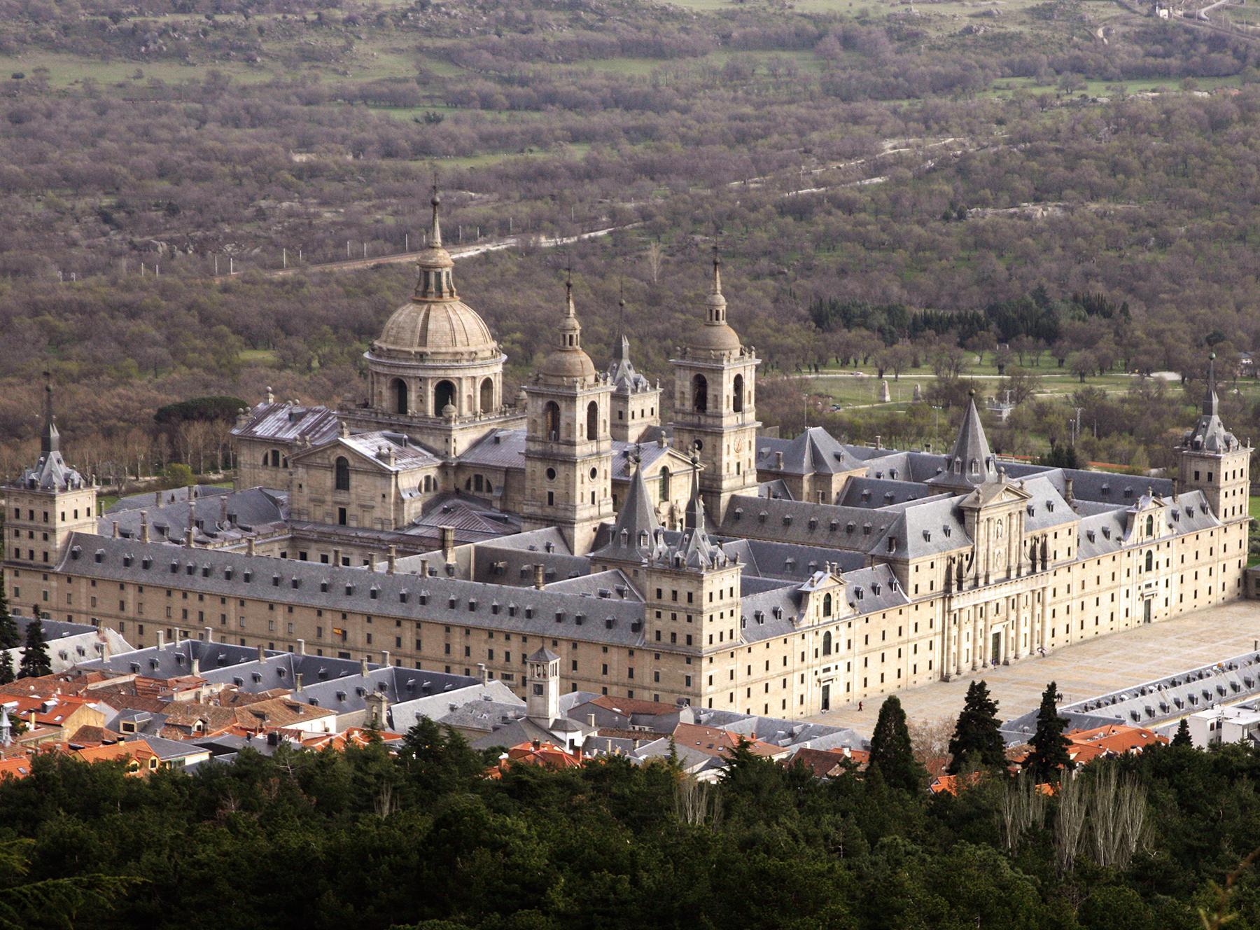 monastyr eskorial - Монастырь Эскориал